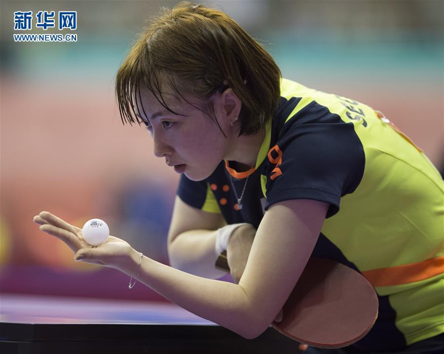 乒乓球--世锦赛团体赛:韩国女队胜瑞典v爸爸吧爸爸原版在哪看图片