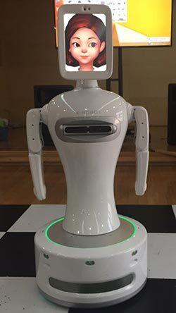 韓國家庭用機器人能照顧癡呆患者 將于4年內商用