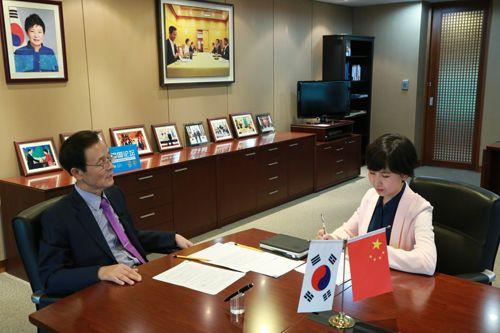 韓國駐華大使:為中國遊客量身訂制旅遊服務 著重解決宰客現象