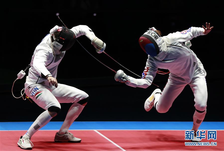 (裏約奧運會)(2)擊劍——男子重劍個人賽:韓國選手奪冠