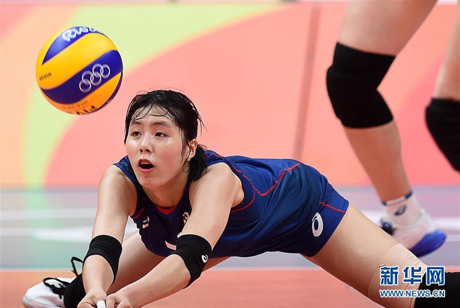 (裏約奧運會)(1)排球——女排小組賽:俄羅斯勝韓國