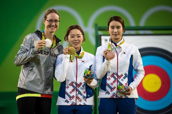 【裏約奧運會】射箭女子個人賽——韓國張惠珍奪金 奇甫倍獲銅