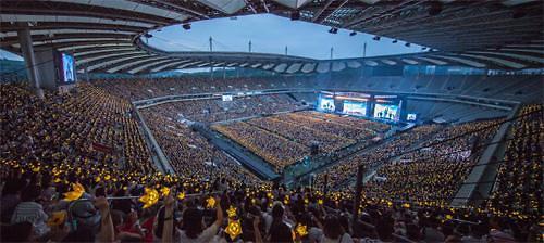 Bigbang十周年演唱會創出百億經濟效益  明洞商鋪免稅店齊歡笑
