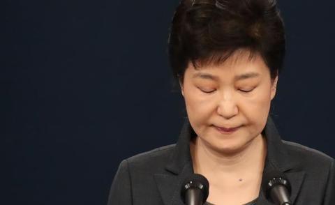 朴槿惠被曝违规用匿名手机与崔顺实通话联络
