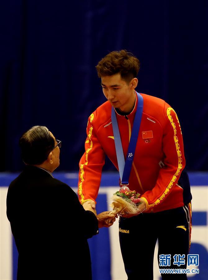 (亞冬會)(4)短道速滑——男子1500米:韓國選手樸世暎奪冠