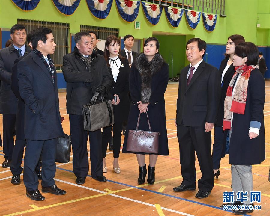 (國際)(1)朝鮮藝術演出考察團抵韓進行踩點