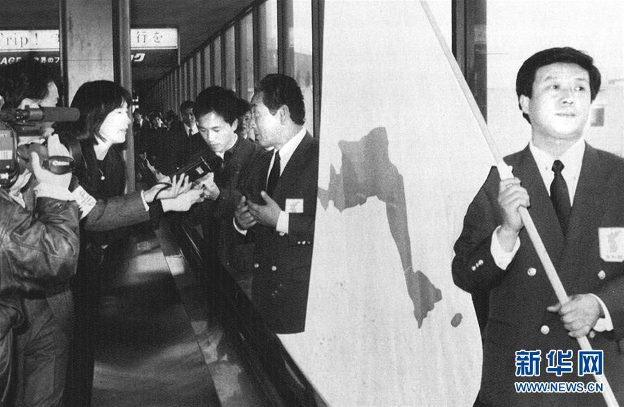 (體育·專題)(1)朝韓兩國攜手運動場