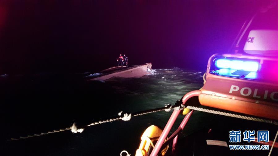 (國際)(1)一艘疑似中國漁船在韓以西海域傾覆 已發現三名遇難船員遺體