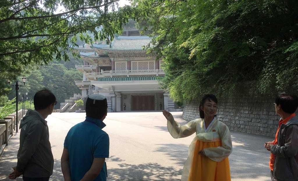 韓國記者再次走進朝鮮