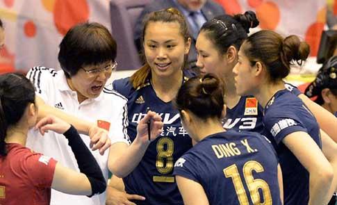 女排世界杯:中國勝韓國