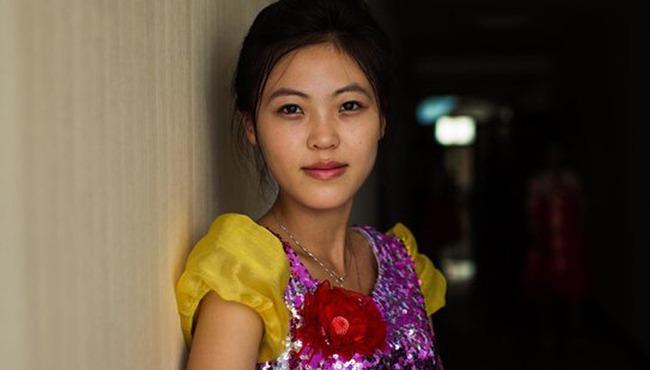 實拍朝鮮女性