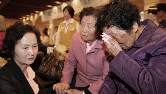 半世分離終相會:朝韓離散家屬團聚