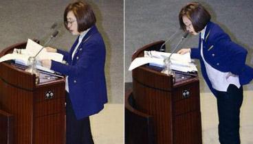 韓議員創10余小時演説紀錄