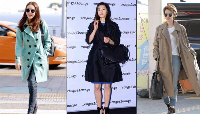 初春韓國女星這樣穿