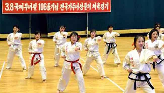 朝鮮舉行活動紀念婦女節