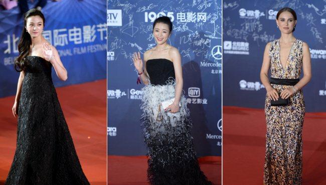 北京電影節:湯唯挺孕肚