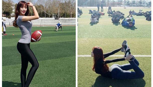 韓美女健身教練美圖集