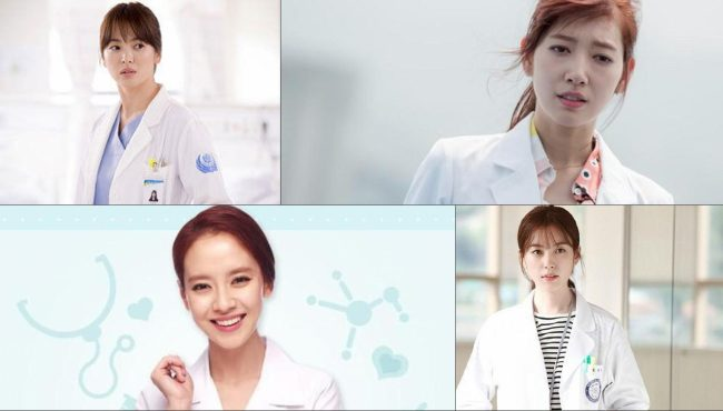 女星醫生角色誰最美?