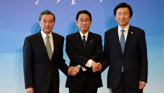 第八次中日韓外長會舉行