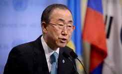 潘基文对韩国政局表示担忧 将认真考虑如何为祖国服务
