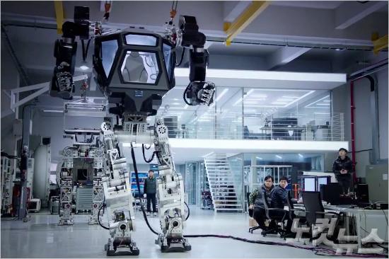 《阿凡達》成真!韓國巨型載人機器人邁出第一步