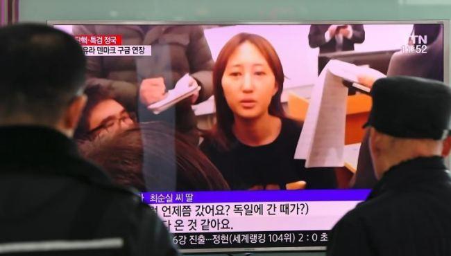 韓國總統親信崔順實之女接受採訪(組圖)