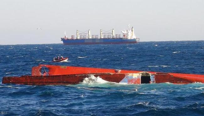 韓國東部海域兩船相撞 1名中國船員失蹤(組圖)