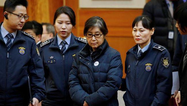 韓國:崔順實出席聽證會