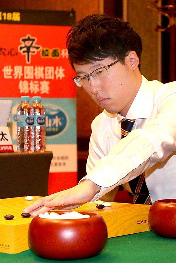 世界圍棋團體錦標賽在滬落子