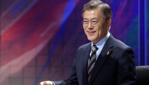 韓國民調顯示超7成選民看好新上任總統