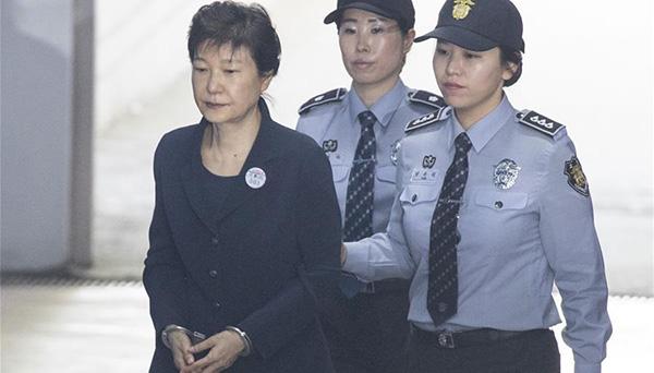 韓國前總統樸槿惠再次出庭受審(組圖)