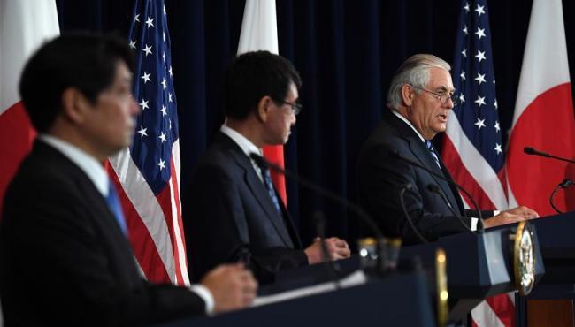 美國務卿:外交手段是解決朝核問題的首要途徑