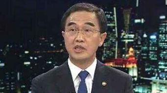 韓統一部長官:和平是文在寅半島政策首要目標