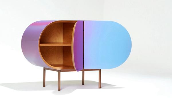 韓國公司推出變色家具 不停變換顏色十分夢幻