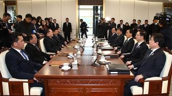 高級別會談順利舉行 朝韓融冰邁出第一步