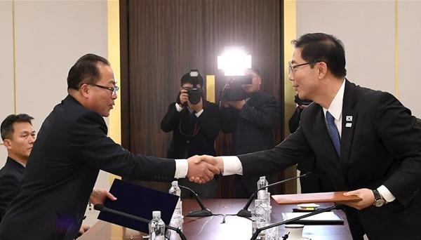 朝韓就朝方參加平昌冬奧會多項事宜達成一致