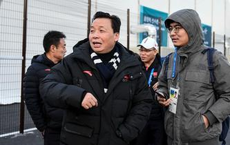 中國代表團陸續抵達平昌