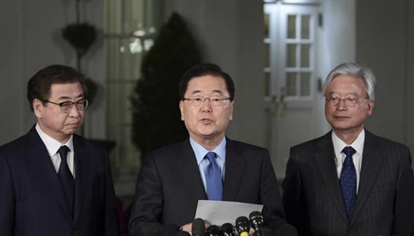 韓國官員説特朗普同意在5月之前與金正恩會面