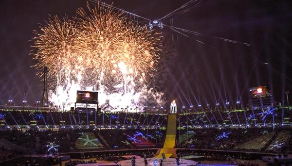 平昌冬殘奧會舉行閉幕式