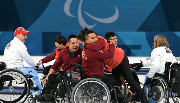 輪椅冰壺——中國代表團實現冬殘奧會金牌零的突破
