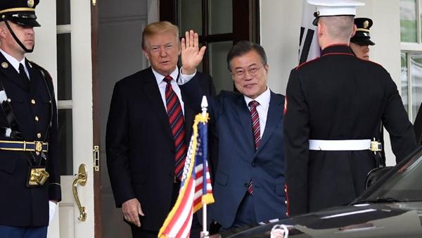 文在寅對美朝領導人會晤取消表示遺憾