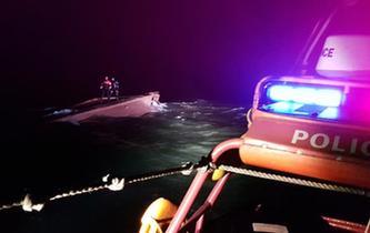 一艘疑似中國漁船在韓以西海域傾覆 已發現三名遇難船員遺體