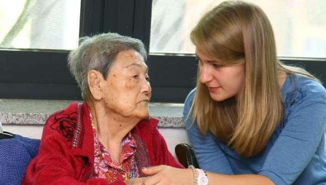 聽韓國慰安婦講歷史