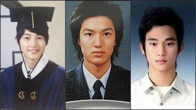 權志龍EXO金秀賢李敏鎬 韓星當紅畢業照雷人還是帥翻了