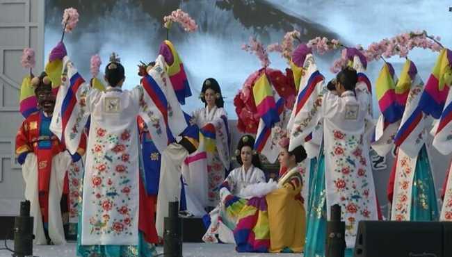 百濟歷史遺址入選世界文化遺産宣布儀式舉行