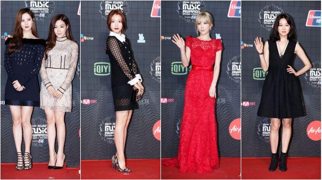 MBC演藝大賞女星性感比胸