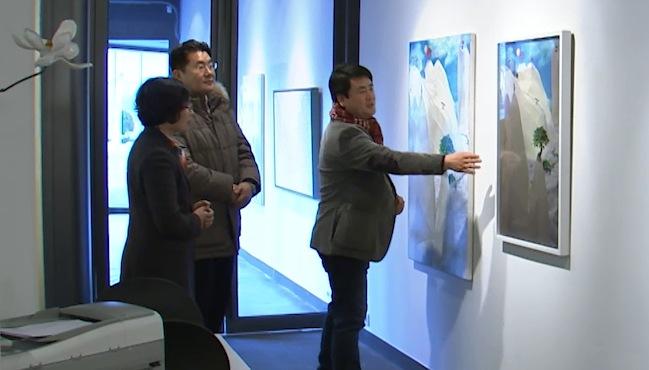 專訪韓國山水畫畫家林澤