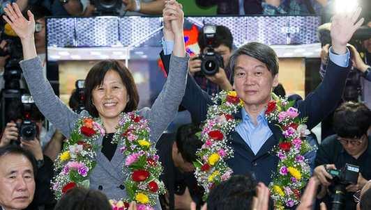 韓國會選舉執政黨慘敗 在野黨議席過半