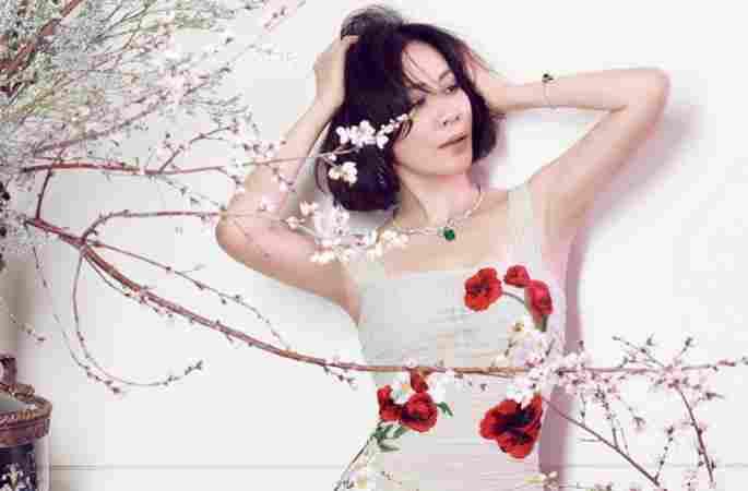 류자링,우아한 카리스마 발산