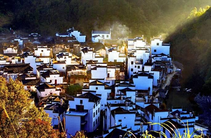중국에서 가장 아름다운 마을, 장시 우위안